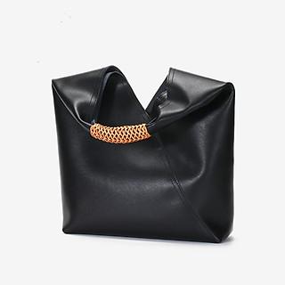 Túi xách thời trang nữ da bò mềm quai bện dây