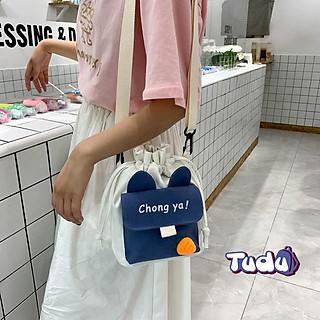 Túi Đeo Chéo Nữ Túi Đựng Điện Thoại Vải Cavas Dễ Thương Phong Cách Thời Trang Hàn Quốc CN232