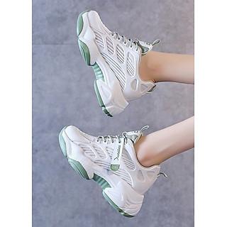 Giày thể thao snaeker nữ 2 màu mẫu mới cực hot cực sịn