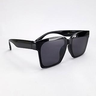 Mắt kính râm Unisex nam nữ DKY5006D màu đen chống nắng, chống tia UV