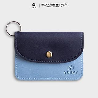 Móc khóa thời trang YUUMY YMK3 - Màu sắc trẻ trung - Thiết kế hiện đại - Đa chức năng sử dụng - Đựng thẻ ngân hàng, thẻ xe, chìa khóa xe - Tiên dụng mang theo bên người (Dài 10cm x Cao 8cm )