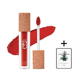 Son Kem Lì Black Rouge Air Fit Velvet Tint – Ver 7 : VELVET CROWN + Tặng 1 gói sữa rửa mặt thải độc Super Vegitoks Cleanser 3ml