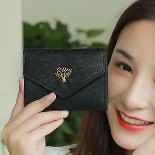 Ví bóp nữ cầm tay đựng tiền nhỏ mini siêu đẹp deliva VN06