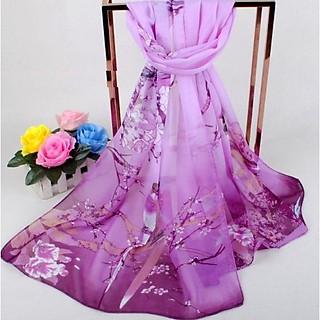 Khăn choàng, khăn choàng cổ, Khăn choàng công sở, Khăn choàng voan lụa, Khăn quàng cổ nữ đẹp họa tiết  dn2009703