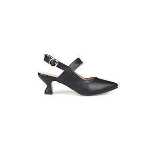 Giày cao gót sandal nữ bít mũi cao 6cm Thời Trang Cao Cấp- SIÊU BỀN PABNO PN648
