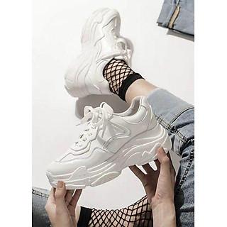 Giày thể thao sneaker nữ trắng tuyết