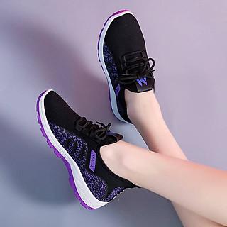 Giày Sneaker Nữ Vải Mềm Ôm Chân, Đế Cao Su 2 Lớp Thích Hợp Đi Học, Đi Chơi, Chạy Bộ GN30