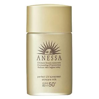 Sữa Chống Nắng Anessa Perfect UV Sunscreen Skincare Milk Spf50+ Pa++++ (20ml)