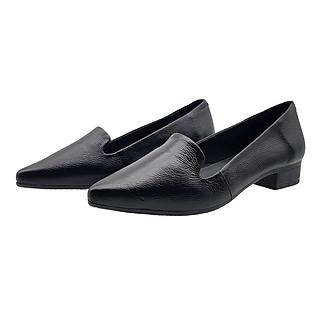 Giày Cao Gót 3Cm Da Bò Thật Cao Cấp Gót Cao 3cm 3P5016