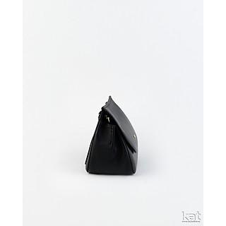 Túi da thật - Clara - Màu đen