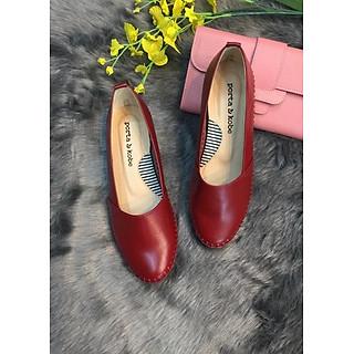 Giày búp bê đỏ prota kobe