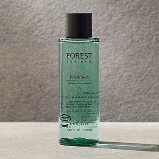 Nước cân bằng Innisfree Forest for men Fresh Skin 180ml - 131170815