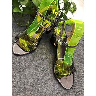 Sandal Quai Dây Trong 7p
