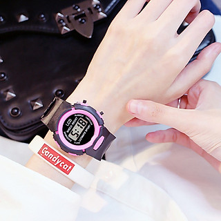 Đồng hồ trẻ em điện tử LCD thông minh đẹp Shock Resist DH74