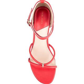 Giày sandal cao gót quai mảnh - Sablanca 5050SN0089