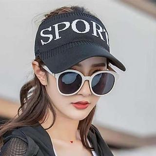 Nón thể thao nửa đầu nam nữ thời trang, chất liệu vải thun mềm mại, co giãn tốt, dùng khi chơi thể thao - Hạnh Dương