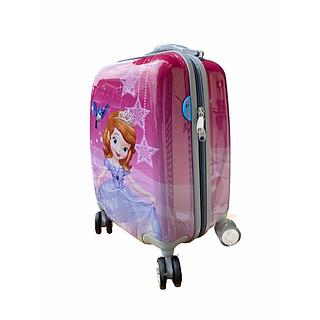 valy đẩy nhựa in hình sofia cho bé gái