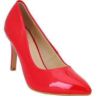 Giày Boot Nữ Gót Vuông Mozy MZG146.2 - Đỏ