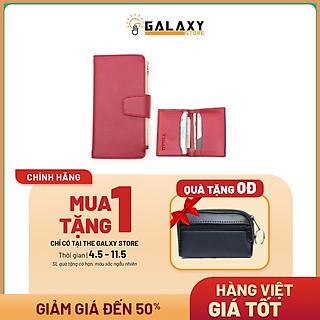 Combo Bộ 2 Ví Bóp Nữ Nhiều Ngăn Để Thẻ Lớn Nhỏ Galaxy Store GVNUBC01