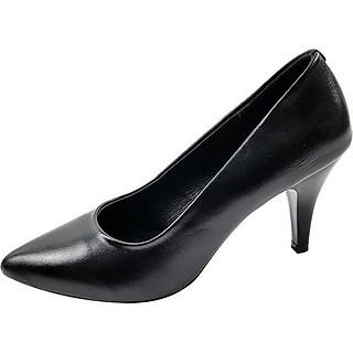 Giày Cao Gót Nữ Da Bò 7P0216