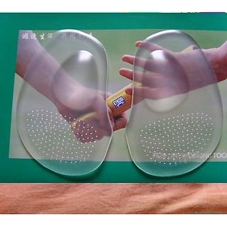 Bộ 2 miếng lót giày silicon massage bảo vệ chống đau chân