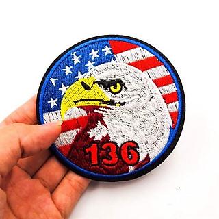 Đại bàng 136 - Patch ủi sticker vải
