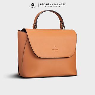 Túi đeo chéo nữ YUUMY YN87, 5 ngăn, vừa A5, túi có quai xách, phù hợp đi chơi, đi làm, đi tiệc, da tổng hợp cao cấp , không bong tróc, không thấm nước (Dài 23cm x Rộng 11.5cm x Cao 19cm)