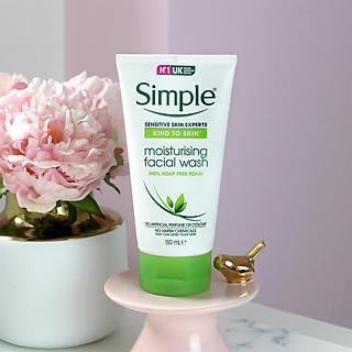 Sữa Rửa Mặt Dưỡng ẨmSimple Moisturising Facial Wash 150ml