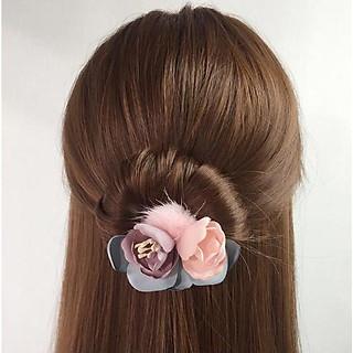 Dây hoa trà nhiều màu tạo kiểu tóc búi dễ dàng (Giao màu ngẫu nhiên)