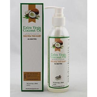 Dầu dừa Flaffe Coconut Oil 200ml