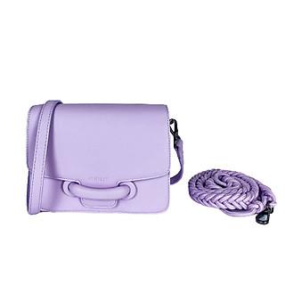 Túi xách nữ túi xách cao cấp đeo chéo thời trang BS6010 thương hiệu GIRLIE_Màu Tím Violet. Kiểu dáng sang trọng, chất liệu túi xách bằng da bò cao cấp.