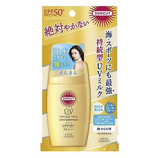 Chống nắng dạng sữa Kosé Cosmeport Suncut Milk Super Water Proof SPF50+/PA++++ 60g