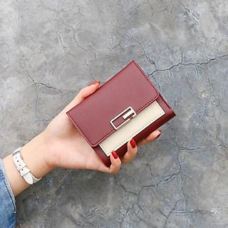 Ví bóp cầm tay da nữ mini đẹp VN22