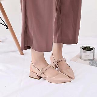 Giày gót kiểu cao 4cm