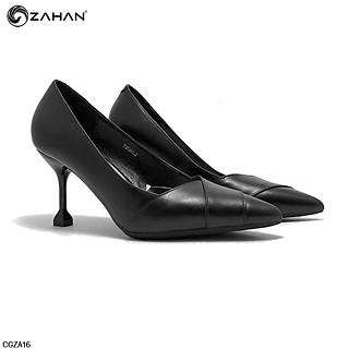Giày cao gót ZAHAN 7cm, vạt tim mũi CGZA16