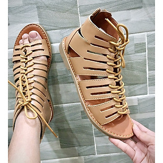 Giày sandal chiến binh nữ cổ ngắn, Giày sandal nữ S071