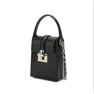 Túi xách nữ đeo chéo túi điện thoại nhỏ gọn 2 ngăn đựng 2 điện thoại