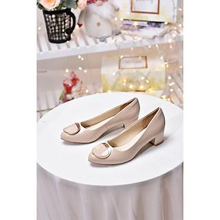 Giày gót thấp 3 cm Merly 1319