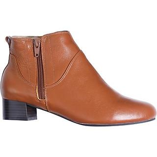 Giày Boot Nữ Da Thật 3cm Pixie P697