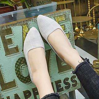 Giày bít nữ gót cao 3p