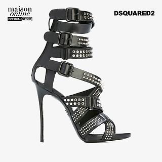 DSQUARED2 - Giày cao gót hở mũi dây phối khóa Studded Multi Strap S17C204538-M802