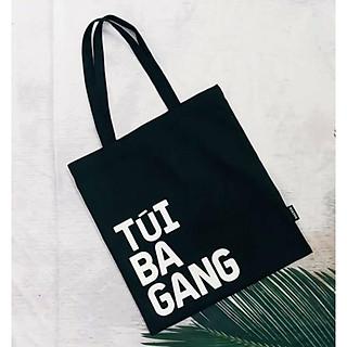 Túi Vải tote Bag Canvas phong cách, tiện dụng đựng được sách, giấy và tài liệu siêu xinh