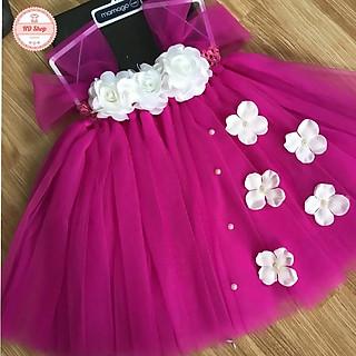 Váy bé gái ️️ Váy tutu cho bé gái tặng kèm băng đô hoặc bờm cài tóc cho bé gái
