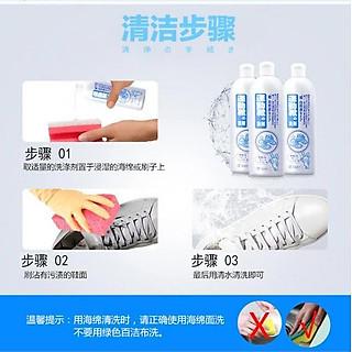 Combo 2 chai nước giặt giày cao cấp 500ml nội địa Nhật Bản