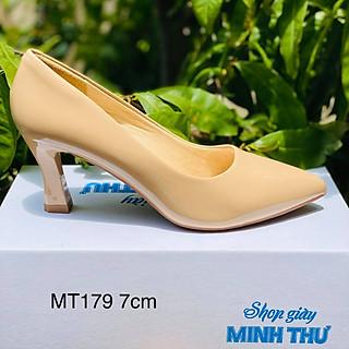 [ Shop giày somina ] Giày VIP gót nhọn cao 7cm MT179