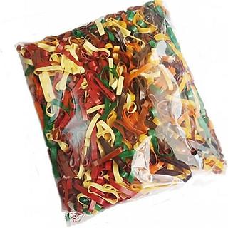 Gói dây thun 100 gam nhiều màu cột tóc
