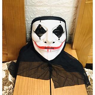 Mặt nạ ma trùm đầu hoá trang Halloween