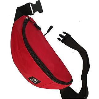 Túi đeo chéo nam nữ - túi bao tử thời trang BEE GEE 028a ( Trơn ) vải dù