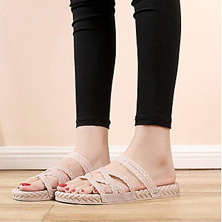 Giày Sandal Giày Nữ Quai Ngang Nữ Dép Quai Hậu Đi HỌC Phong Cách Hàn Quốc