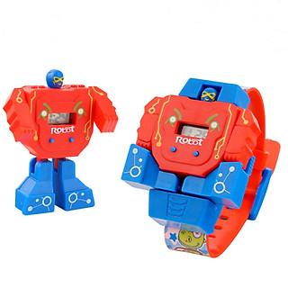 Đồng hồ trẻ em - Đồng hồ và ROBOT 2 trong 1 - BY17